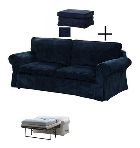 ektorp sofa bed slipcover ikea ektorp slipcovers for sofa bed and footstool vellinge