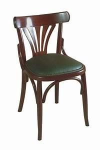 Chaise Bistrot Bois : chaise bois assise rembourr e bistrot ~ Teatrodelosmanantiales.com Idées de Décoration
