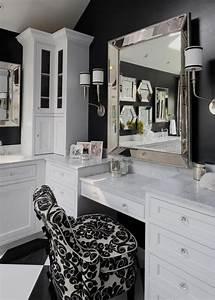 Coiffeuse Salle De Bain : salle de bain design id es luxueuses par drury designs ~ Teatrodelosmanantiales.com Idées de Décoration