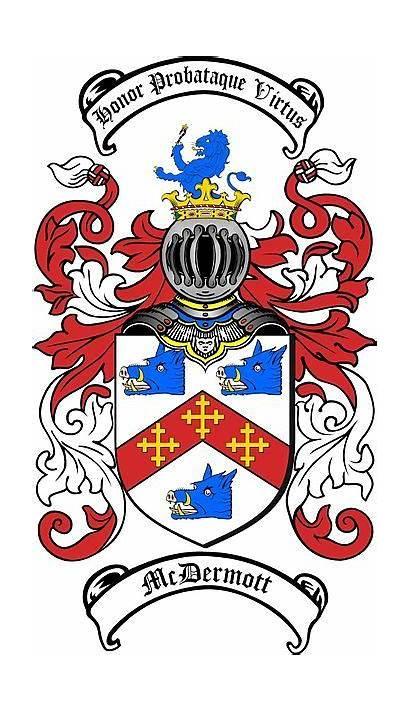 Arms Coat Crest Mcdermott Tattoo Ireland Crests