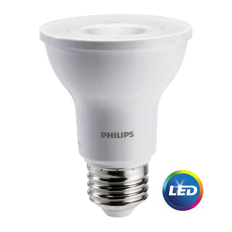 philips 50w equivalent bright white par20 so led light