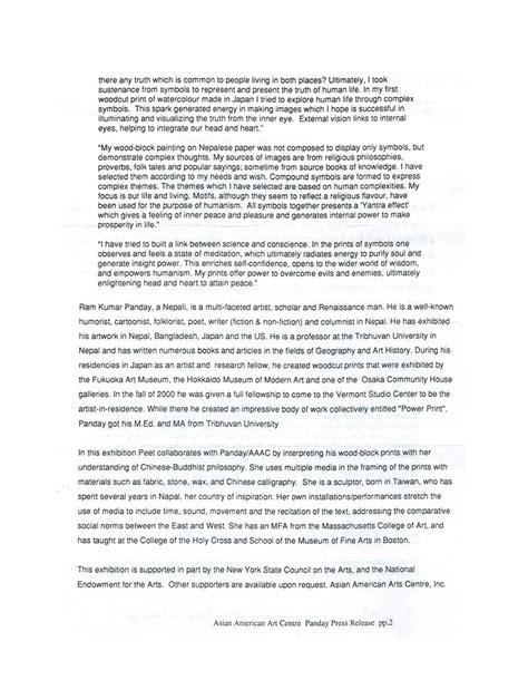 Panday, Ram Kumar  Selected Document  Artasiamerica A