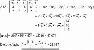 Dreiecksseiten Berechnen : rechengesetze f r vektoren in koordinatendarstellung ~ Themetempest.com Abrechnung