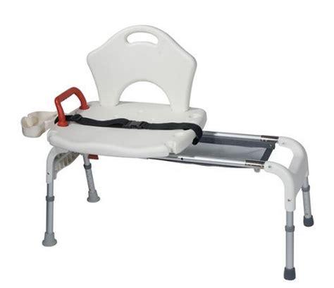 bath bench shower chair sliding transfer seat bathtub
