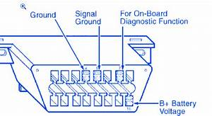 Ford E250 Van 1999 Power Connector Electrical Circuit Wiring Diagram