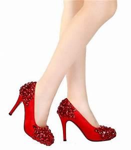 Zapatos brillantes de tacón alto AquiModa com: vestidos de boda, vestidos baratos