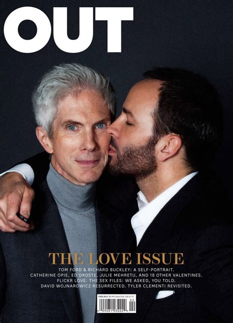 Designer tom ford has married his partner richard buckley. Who is Tom Ford's husband Richard Buckley? Wiki: Net Worth ...