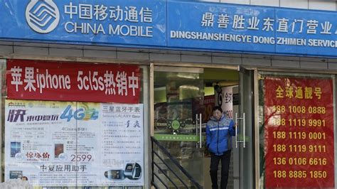 apple china mobile sign iphone deal