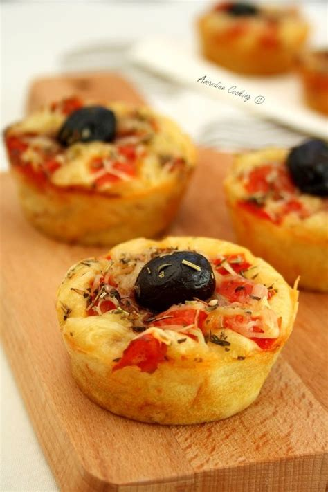 muffins facon pizza amandine cooking