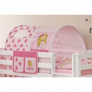 Tunnel Für Hochbett : tunnel bett tasche herzchen pink 100 baumwolle f r hochbett hochbett vorh nge ~ Orissabook.com Haus und Dekorationen