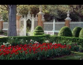 Spring Colonial Williamsburg Gardens