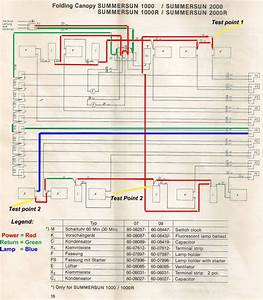 Sunal Tanning Bed Wiring Diagram