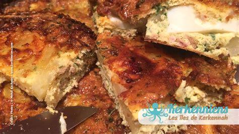 cuisine tunisienne tajine tajine au thon version tunisienne vous connaissez