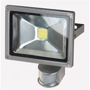 Projecteur Led Detecteur : projecteur led 30w avec detecteur lustres luminaire ~ Carolinahurricanesstore.com Idées de Décoration