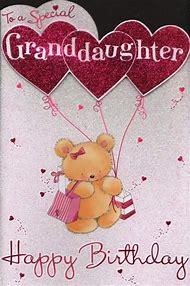 Best Happy Birthday Granddaughter