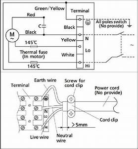 Wiring Diagram Of Electric Stand Fan