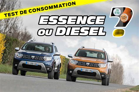 dacia duster tce   dci  essence ou diesel