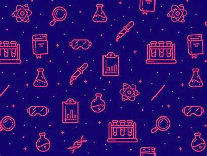 Chemistry Pattern Dribbble Animated Animation Chemist Related