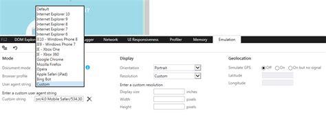 browser agent desktop change user firefox