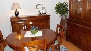salle a manger avec meubles en merisier massif photo 7 10 With meuble de salle a manger avec salle a manger merisier