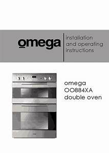 Installation And Operating Instructions Omega Oo884xa