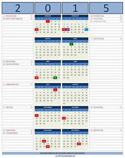 Calendar Excel Note Templates Calendars Vertical Notes
