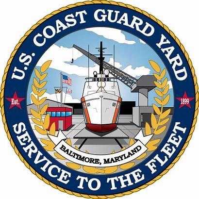 Yard Uscg Guard Coast Svg Crest Emblem