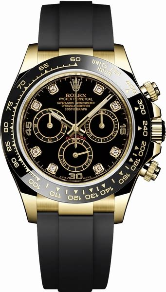Rolex Cosmograph Daytona 18k Yellow Gold Men's Watch 116518LN