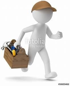 Gute Handwerker Finden : 3d m nnchen handwerker service stockfotos und ~ Michelbontemps.com Haus und Dekorationen
