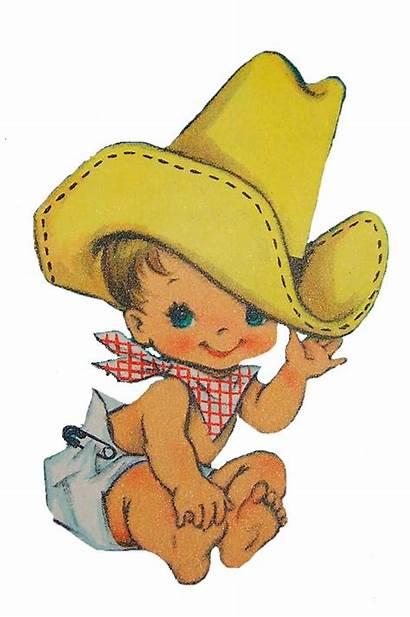 Cowboy Clip Shower Cartoon Cowboys Bing Boy