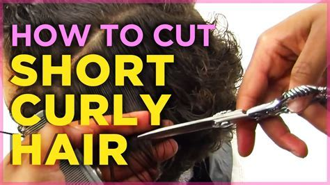 How To Cut Short Naturally Curly Hair [Tutorial]   YouTube