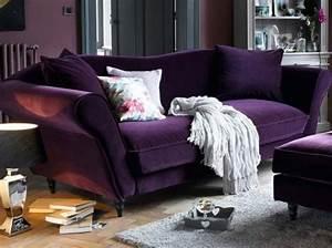 1000 idees a propos de canape violet sur pinterest With tapis rouge avec canapé velours violet