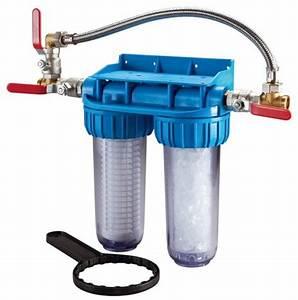 Adoucisseur D Eau Brico Depot : double porte filtre traitement anti tartre brico d p t ~ Edinachiropracticcenter.com Idées de Décoration
