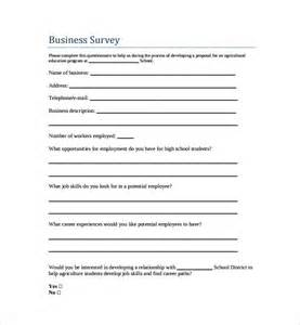 Donation Sheet Template Free Survey Template 9 Free Documents In Word Pdf
