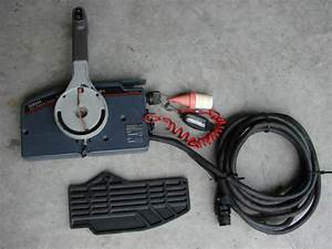 Sell Yamaha Outboard 703 Control W   Key  Ckoke Switch  Lanyard  Tilt Trim Button Motorcycle In