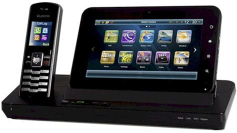 android home phone 8218 android tablet with dect phone spotted at