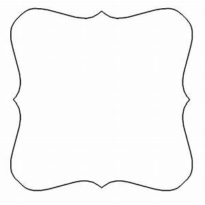 4 best images of printable shape templates for With shape templates for scrapbooking
