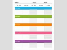 Daily Itinerary Template 7+ Download Free Documents in