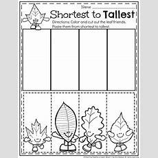 Fall Preschool Unit  Planning Playtime