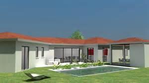 HD wallpapers maison contemporaine plain pied interieur