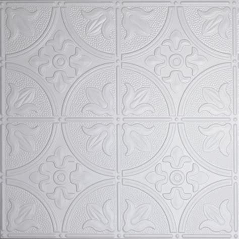 white tin ceiling tiles home depot global specialty products dimensions 2 ft x 2 ft white
