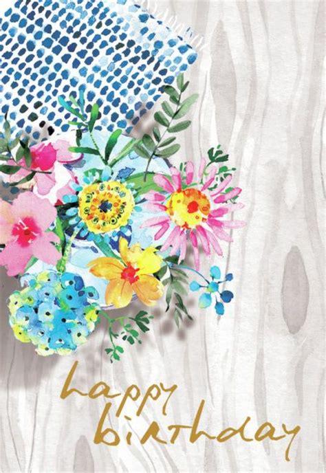 images  happy birthday flower  pinterest