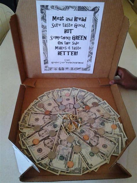 creative money pizza      dough