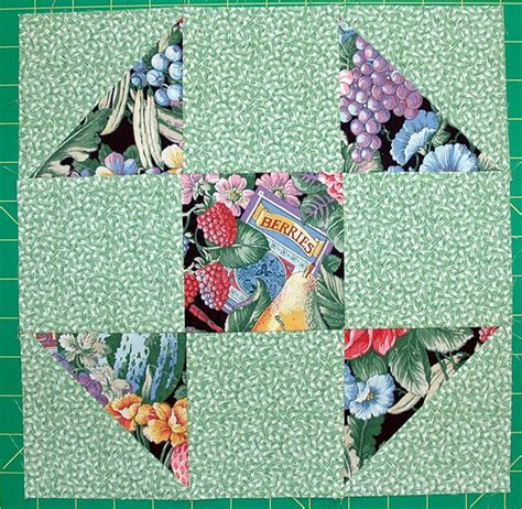 easy shoo fly quilt block pattern   sizes