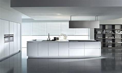 muebles de cocina modernos blancos imagenes  fotos