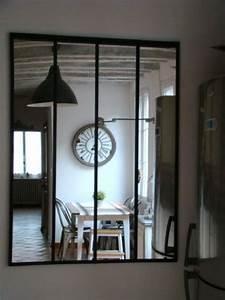 Miroir Maison Du Monde Industriel : ingrandire con gli specchi 7 modi per ingrandire la stanza ~ Teatrodelosmanantiales.com Idées de Décoration