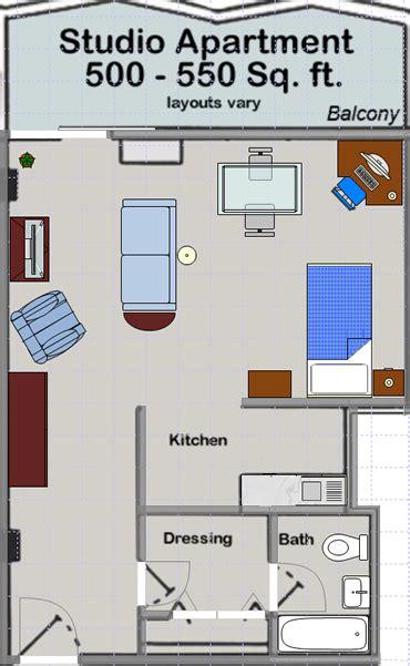 studio layout apartments at huron towers