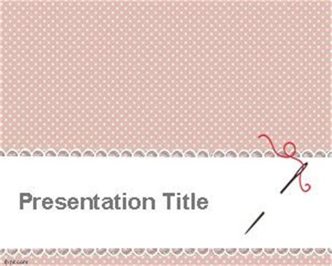 Sewing Powerpoint Template