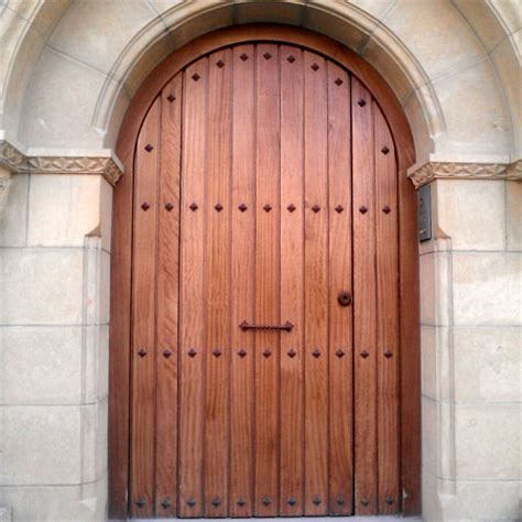 puerta medio punto