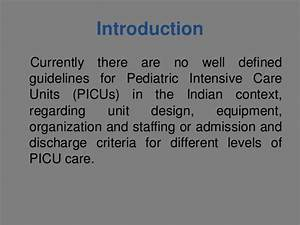 Pediatrics intensive care unit